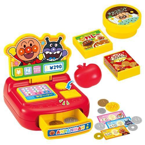 日本新款-麵包超人收銀機玩具~