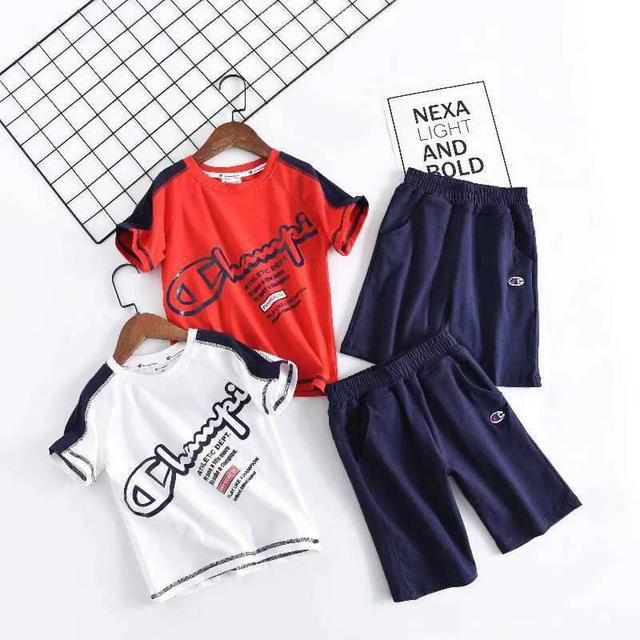 精品日本潮牌冠軍童裝套裝 高品質高CP