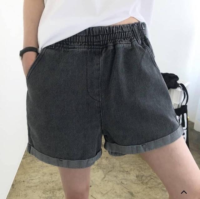 💝韓國反摺寬鬆感短褲