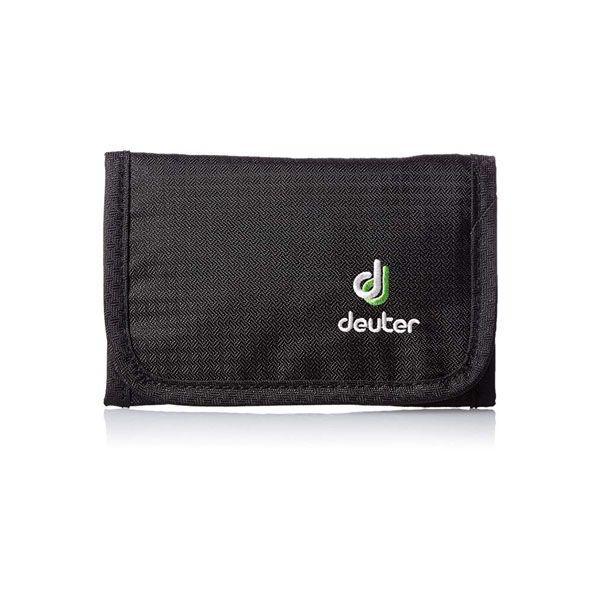 Deuter黑色旅遊錢包 (4046051068541)