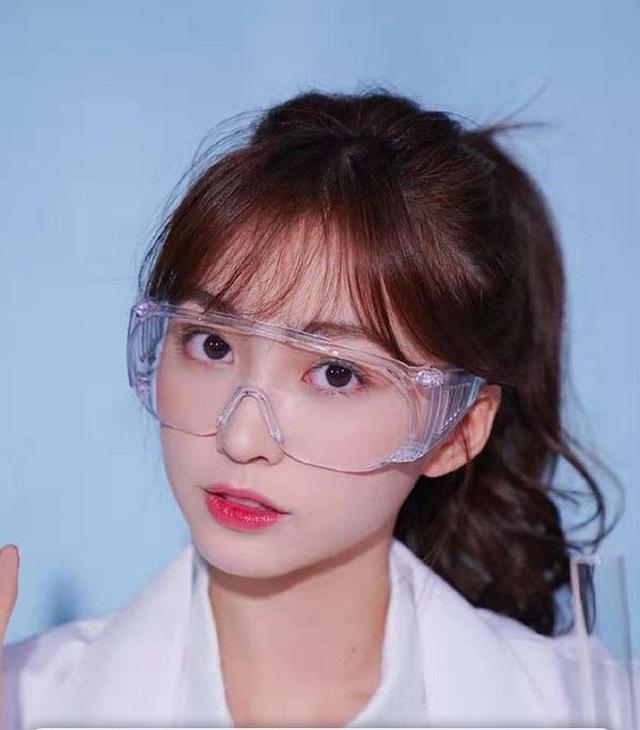 防飛沫透明防護眼鏡