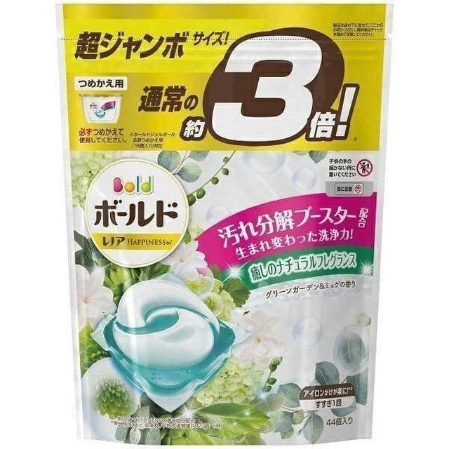 日本P&G洗衣凝膠球/洗衣球46入補充包