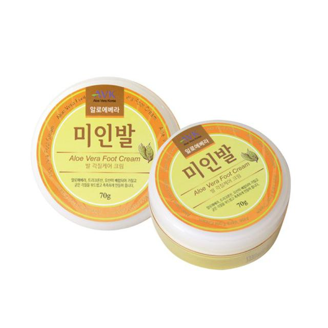 #美妝保養品 韓國 AVK 美人腳護足霜 70g