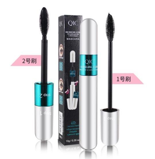(預購e) QIC歐美熱銷4D銀光二合一雙效睫毛膏