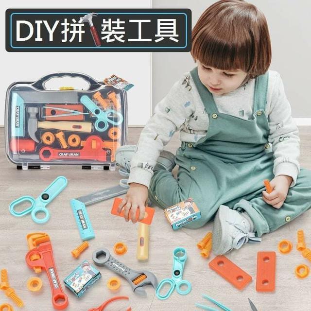 (預購S) G740 - 兒童家家酒工具箱15件組
