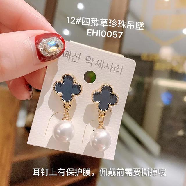 (7~12款)925純銀小耳釘冷淡風個性氣質簡約ins網紅韓國東大門耳飾耳環
