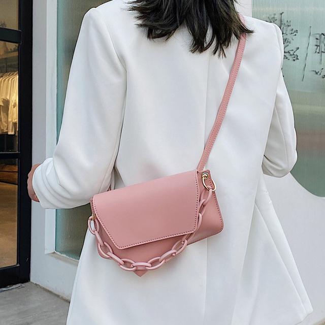 (預購)新款潮個性鏈條手提包高级感網红單肩斜挎小包