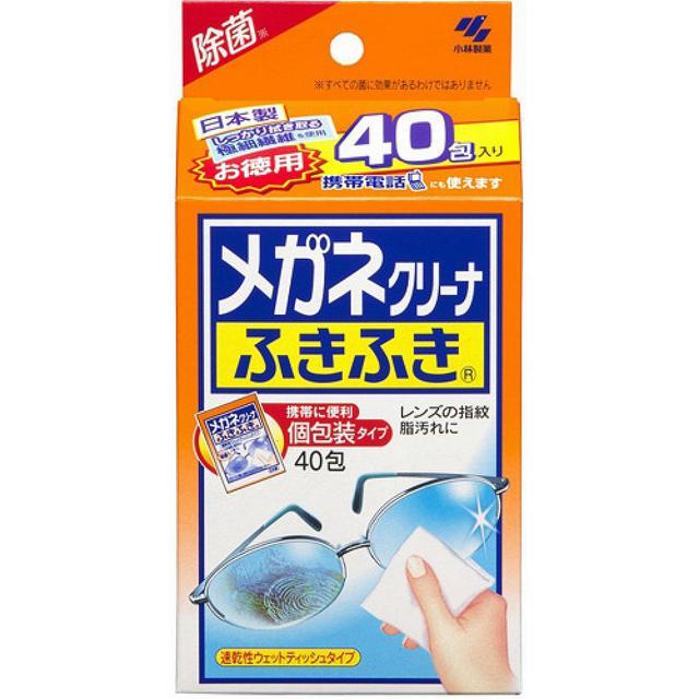 小林製藥 眼鏡專用擦拭布 40枚 代購