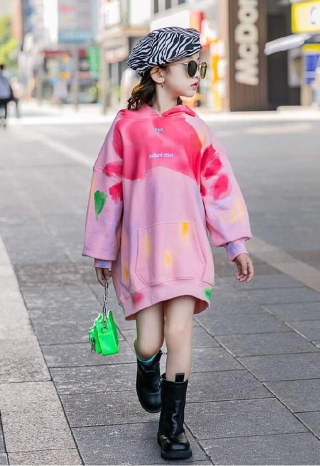 【預購】韓版潮流洋裝(內刷毛)