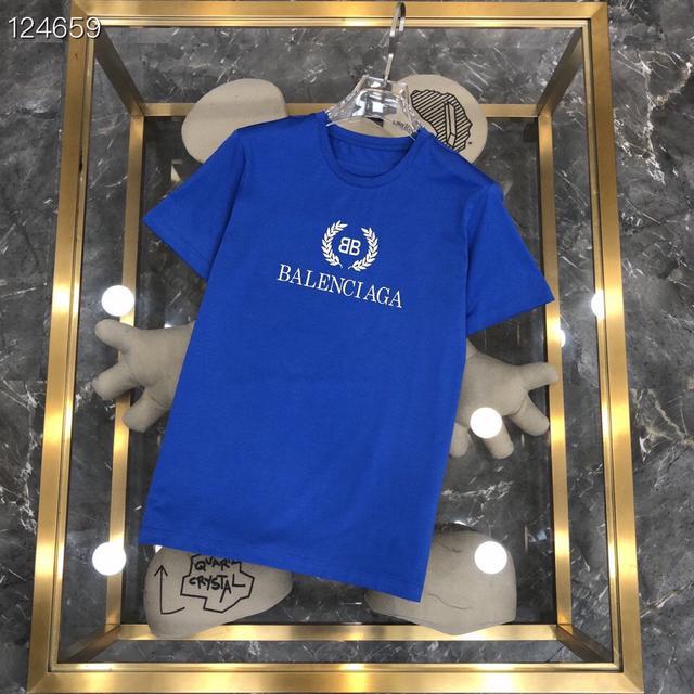 巴黎世家 21ss G網同步男士短袖T恤