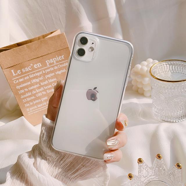 ✨簡約透明Iphone蘋果手機殼✨
