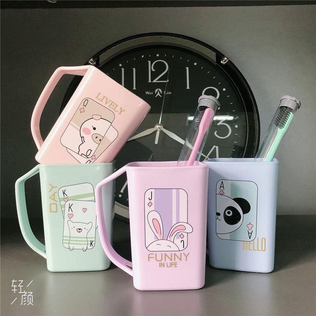 牙刷杯家用刷牙杯洗漱杯牙缸漱口杯兒童刷牙刷杯旅行便攜漱口杯