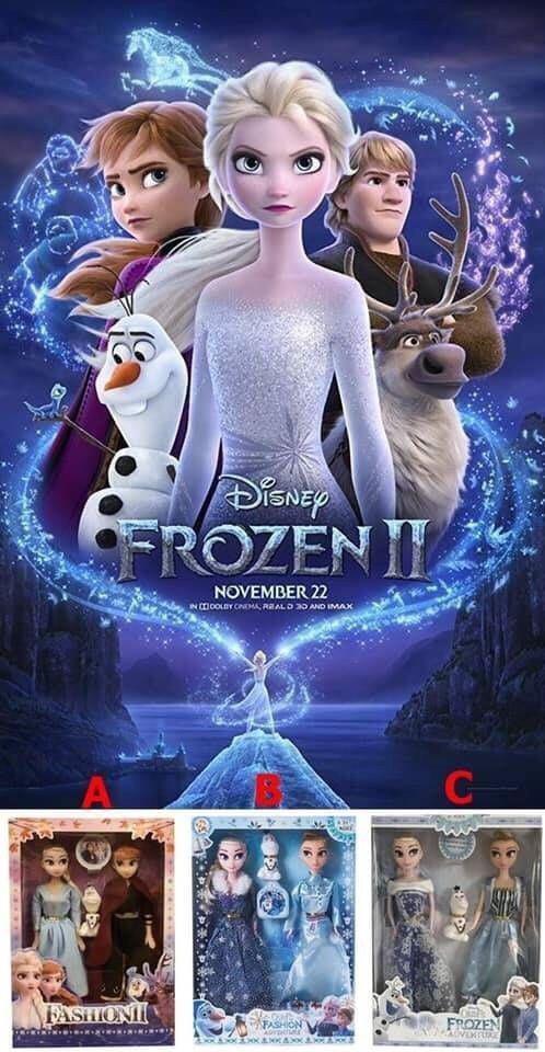 冰雪奇緣 ANNA跟ELSA公主娃娃禮盒