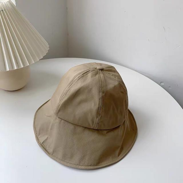 A015 韓版夏季紮馬尾漁夫遮陽帽(四色)