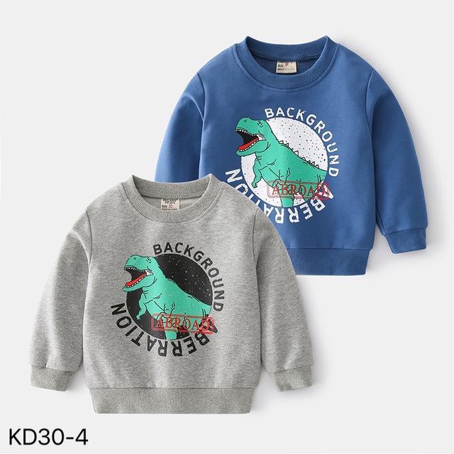 KD30-4 韓版恐龍印花休閒上衣