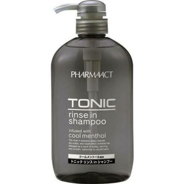 日本 熊野油脂 Pharmaact tonic 清涼潤絲洗髮精 600ml