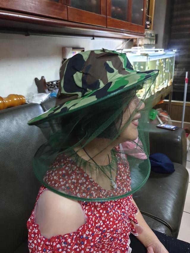 夏天消暑防蚊帽
