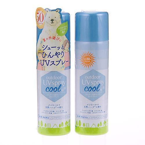 日本製Outdoor UV 涼感防曬防蟲噴霧~