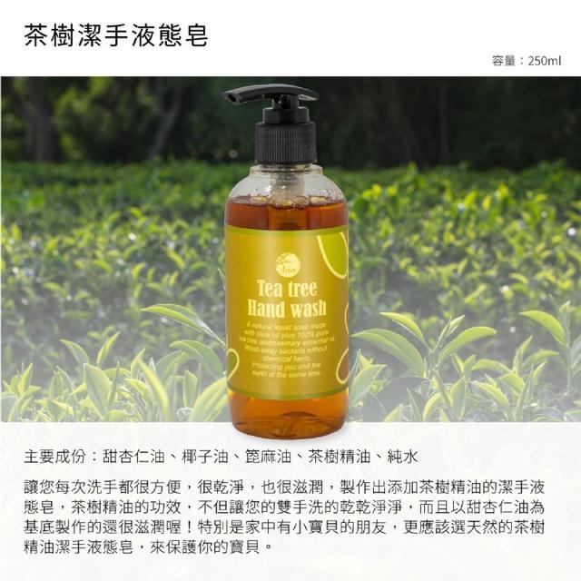 【AnnChen陳怡安手工皂】茶樹潔手液態元250ml ❤️