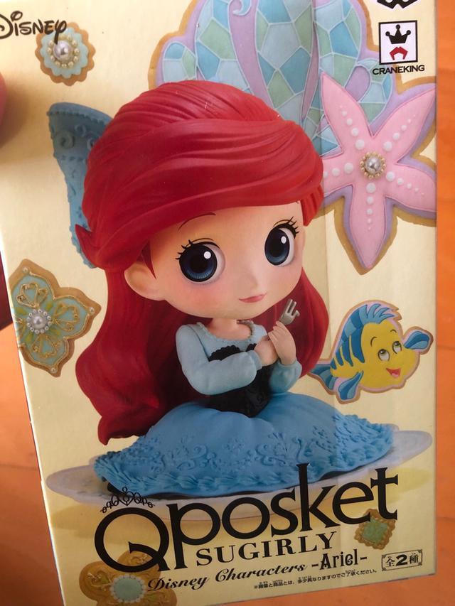現貨 日本 Qposket 代理版 小美人魚 公仔 盒玩 景品品