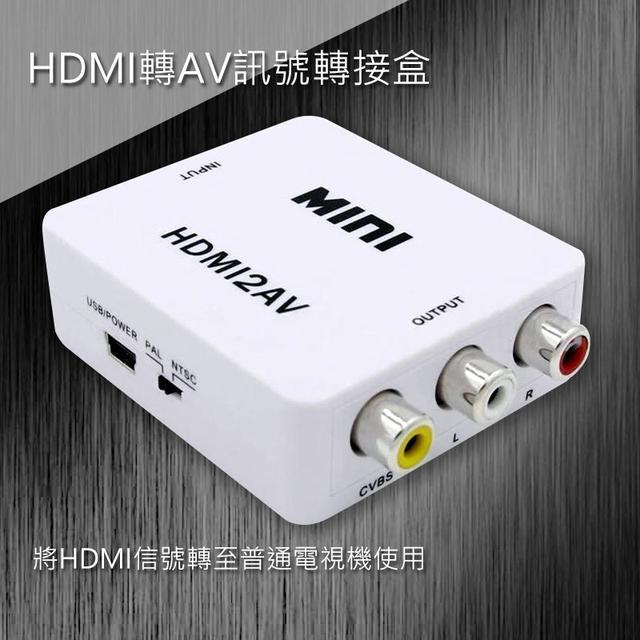 HDMI轉AV訊號轉接盒. HDMI-101