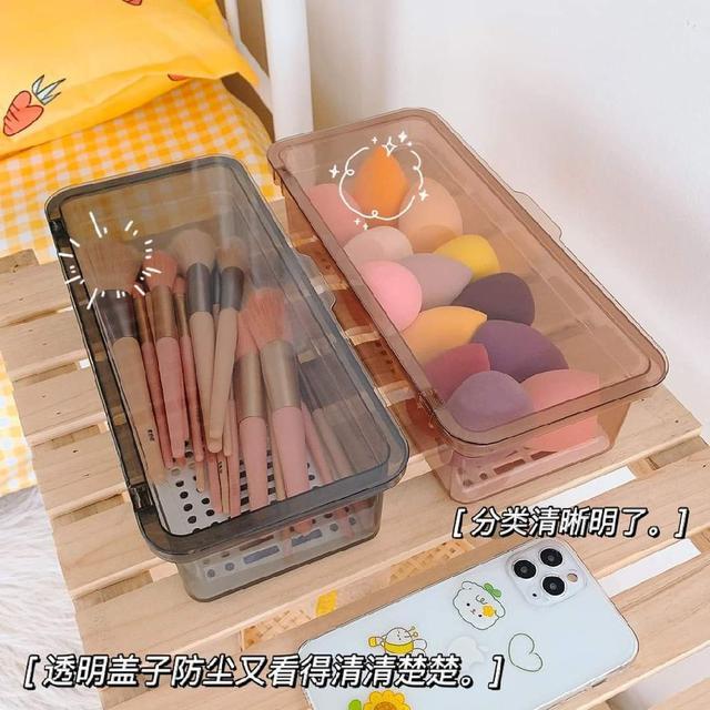 (預購s+) A460-高顏防塵化妝品收納盒