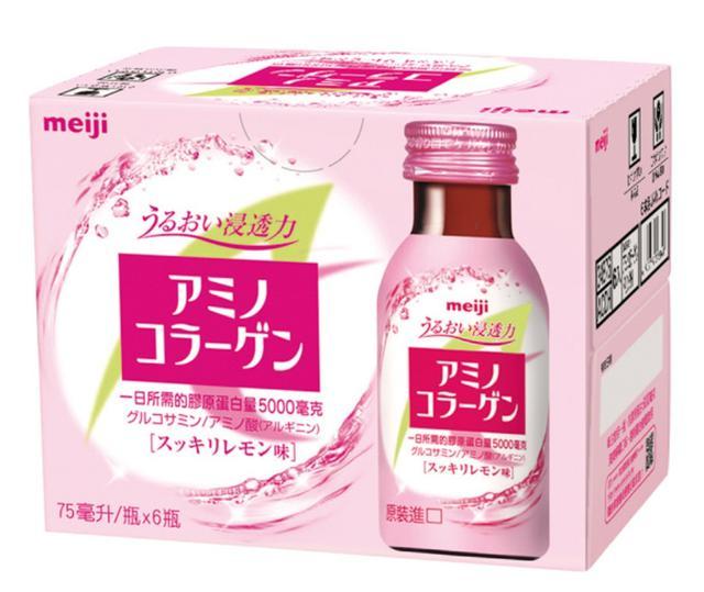 😊明治膠原蛋白飲- 檸檬口味 ( 6瓶/組)