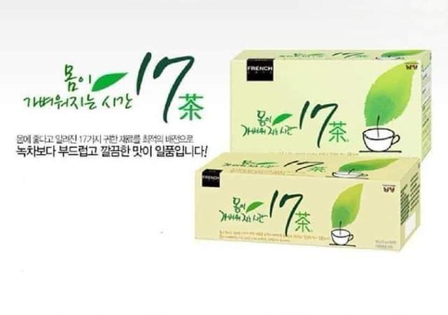 預購  韓國  國民油切健康茶  南陽17茶 1.5g 25入/盒