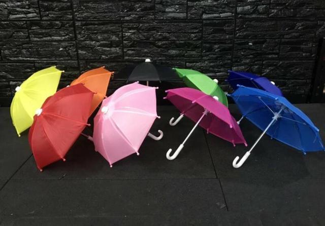 【VIVI批發網】機車外送小雨傘手機支架傘 foodpanda ubereats外送必備 熊貓外送傘