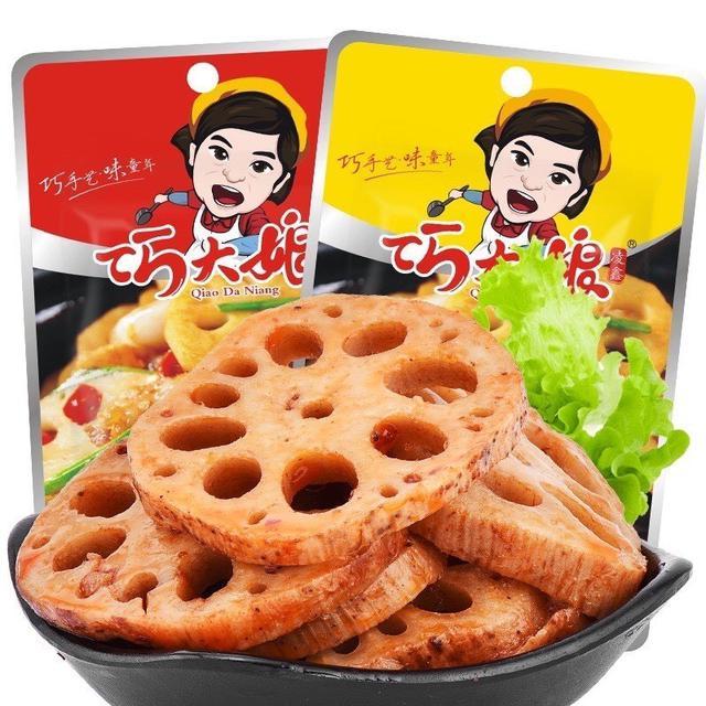 巧大娘 香脆滷蓮藕片 (一組十包)