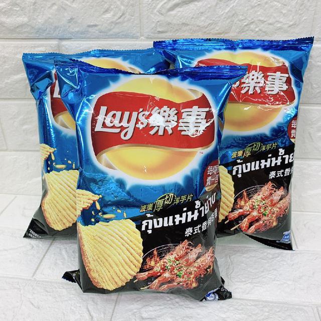 樂事泰式香烤明蝦味洋芋片(現貨)