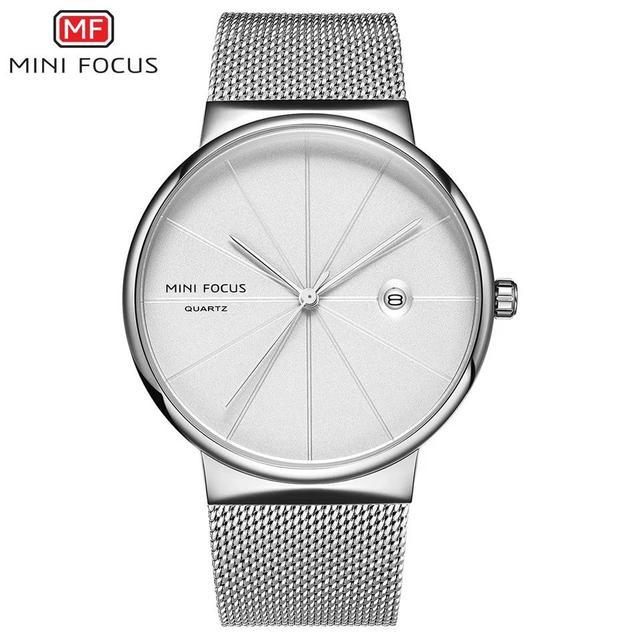 預購 - Mini Focus 精品手錶 銀色