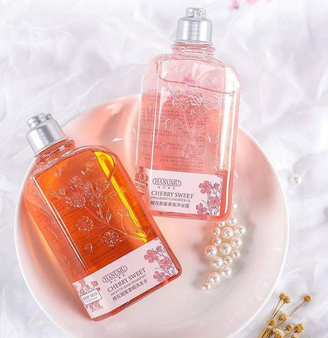 櫻花香氛沐浴乳洗髮乳身體乳