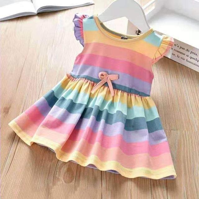 【現貨】彩虹洋裝