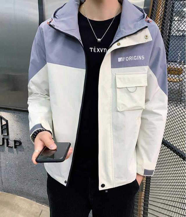 【預購】男性連帽外套