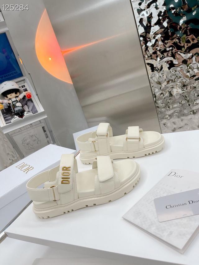 o* r. D家2021新款魔術貼涼鞋 GO原版復刻 高端定制