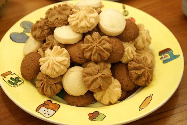 香港珍妮曲奇-小熊餅乾 四味奶油曲奇(S號) 320g
