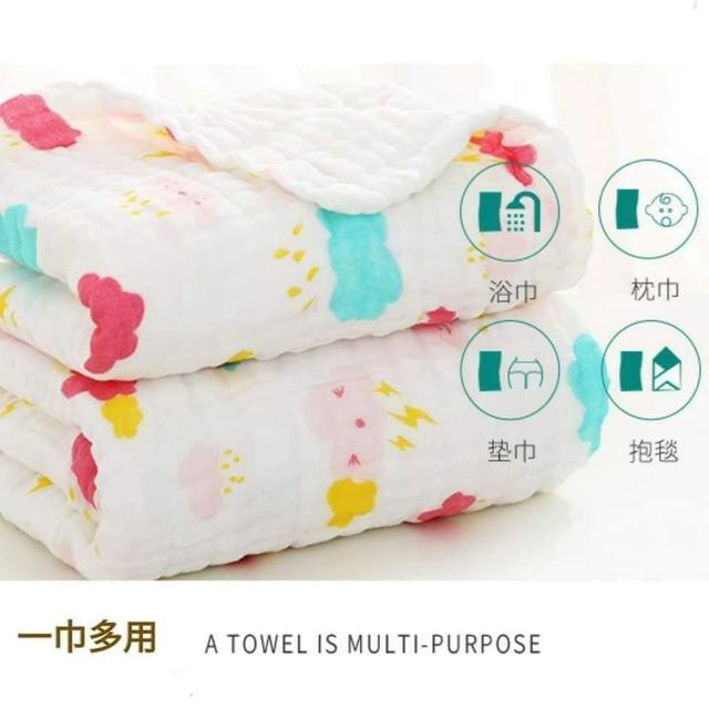 💟六層泡泡紗浴巾/蓋毯💟