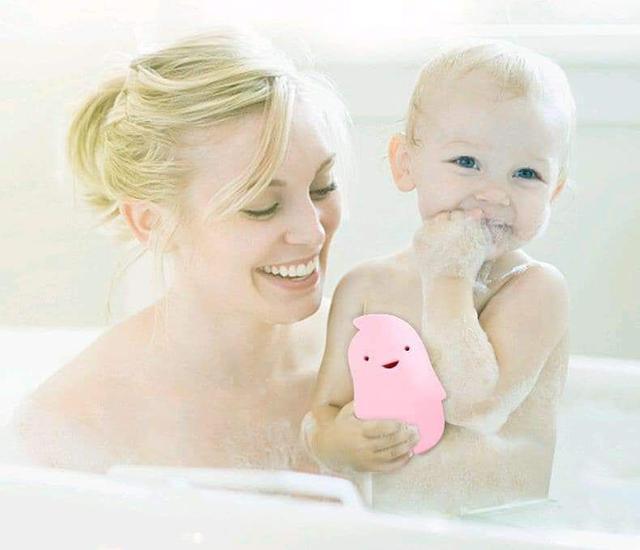 (預購S) 幼兒親膚搓澡海綿(3個)
