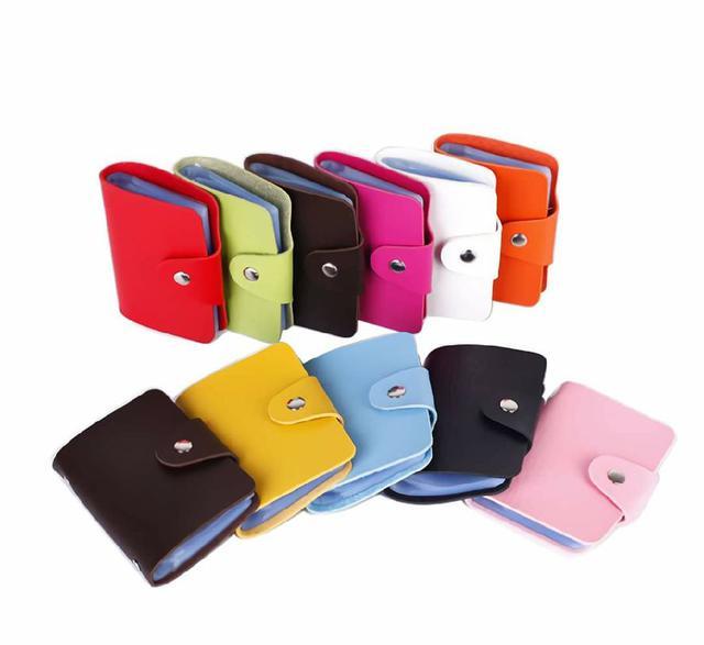 (預購s+)A103-雙面24卡位証件包(一組5個)