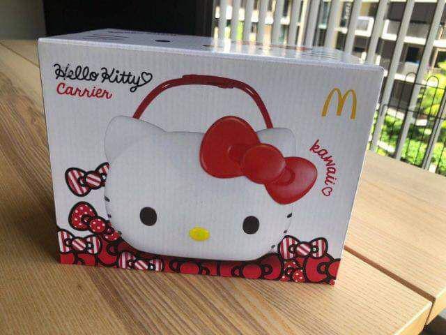 泰國限量麥當勞 Hello Kitty置物籃(正品)