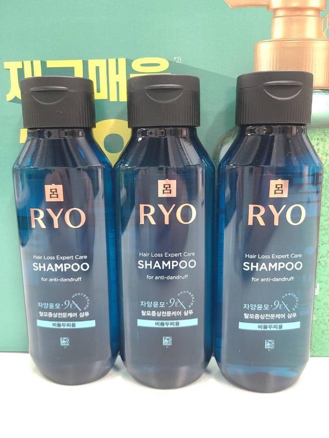 預購限量-Ryo 呂 漢方9EX 滋養韌髮洗髮精 180ml (清涼護理) 【單瓶】