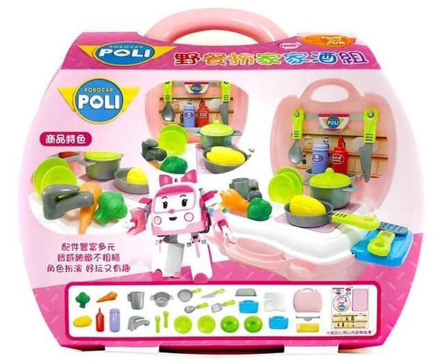 【波力玩具系列】安寶野餐扮家家酒組