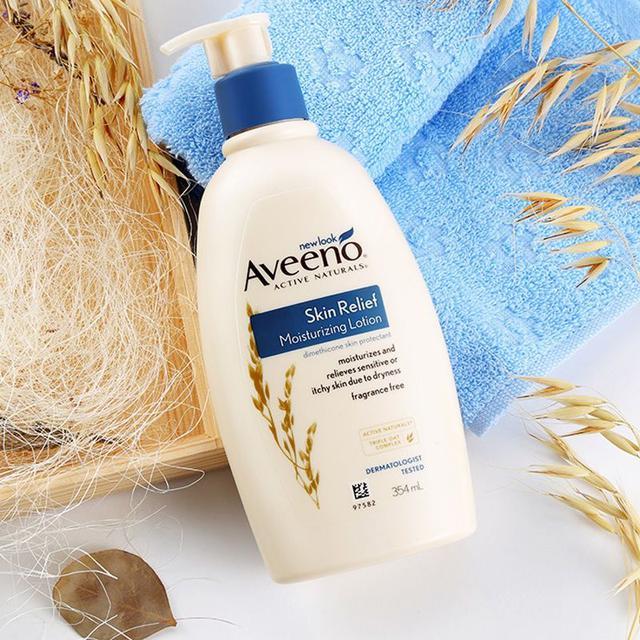 艾惟諾 Aveeno 溫和保濕身體乳液354ml~洋甘菊香味 乾癢敏感護理