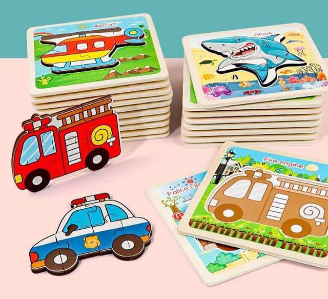 【預購】兒童早教3D拼圖