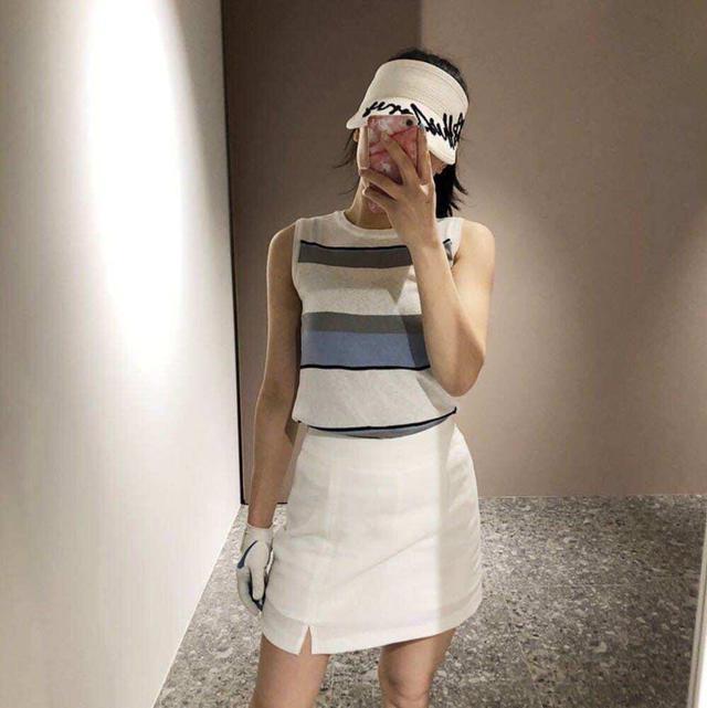 💝韓國時尚英文字母遮陽帽