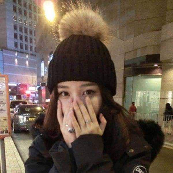 (預購S) 秋冬加厚針織毛球毛帽