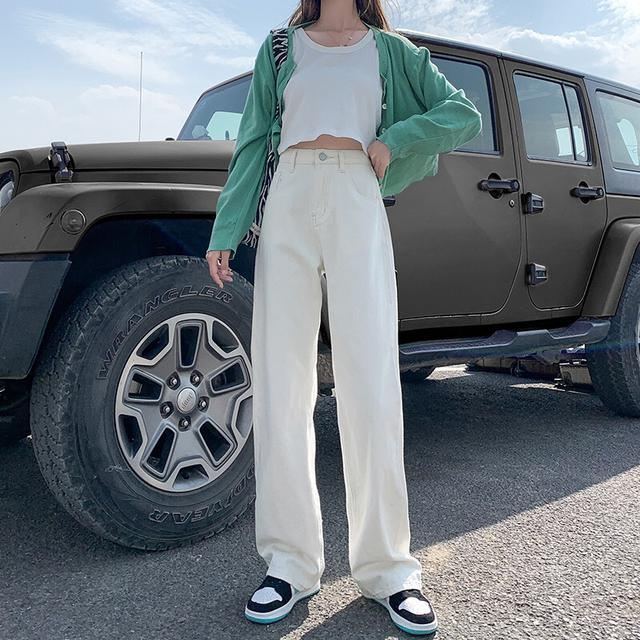 夏季薄款高腰褲