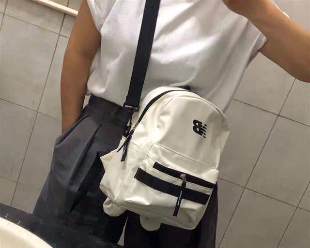 NEW BALANCE/NB可爱双肩包mini背包女夏季休闲两用斜挎包