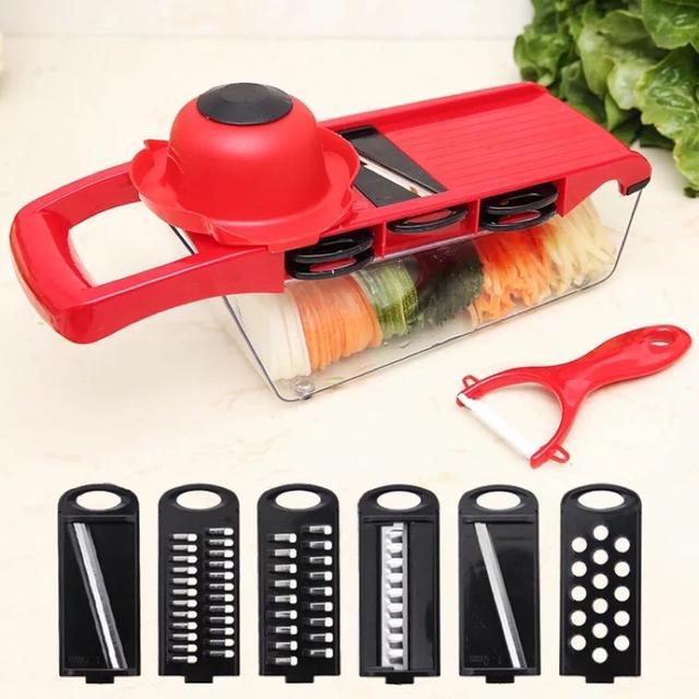 10件組 廚房切菜神器  切菜器 多功能  廚房懶人神器 切絲器 切片器 刨絲器